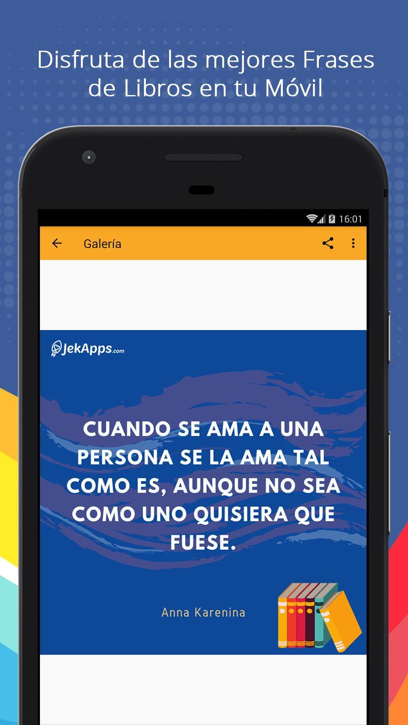 Frases De Libros Pour Android Téléchargez Lapk