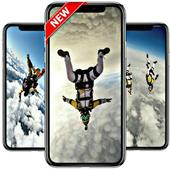 skydiving wallpaper icon