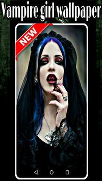 vampire girl wallpaper poster