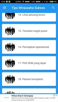 Tips Wirausaha Sukses screenshot 3
