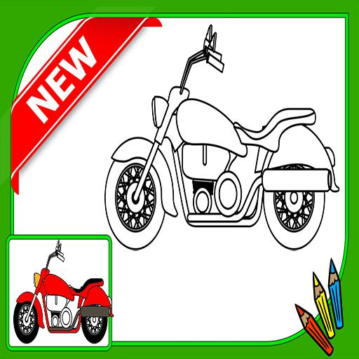 Mewarnai Sepeda Motor For Android Apk Download
