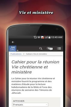 Vie chrétienne et ministère screenshot 1