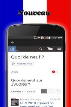 Le nouveau JW screenshot 6