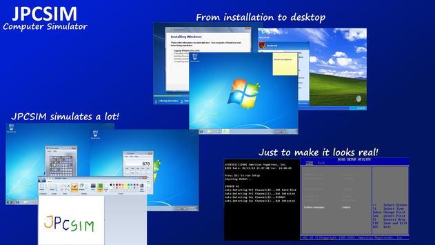 JPCSIM - PC Windows Simulator for Android - APK Download