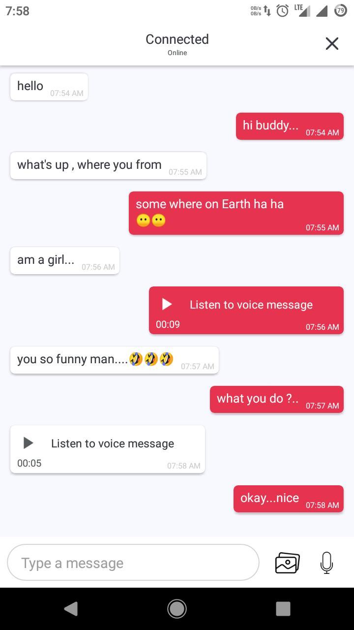 Strangers Chatt