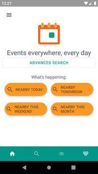Everivent: go out, visit, discover poster