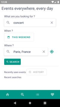 Everivent: go out, visit, discover screenshot 1
