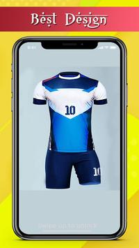 Soccer  Jersey Team Design screenshot 3