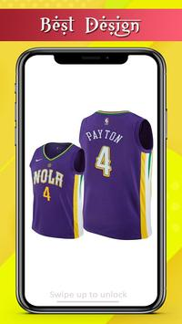 Basketball Jersey Team Design screenshot 1