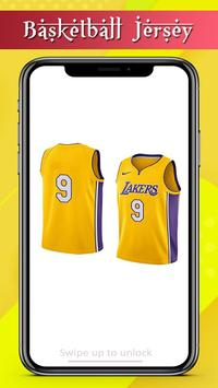 Basketball Jersey Team Design screenshot 2