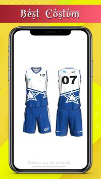 Basketball Jersey Team Design screenshot 3