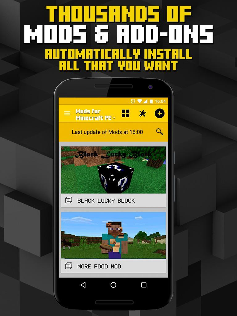 Mods for Minecraft for Android - APK Download