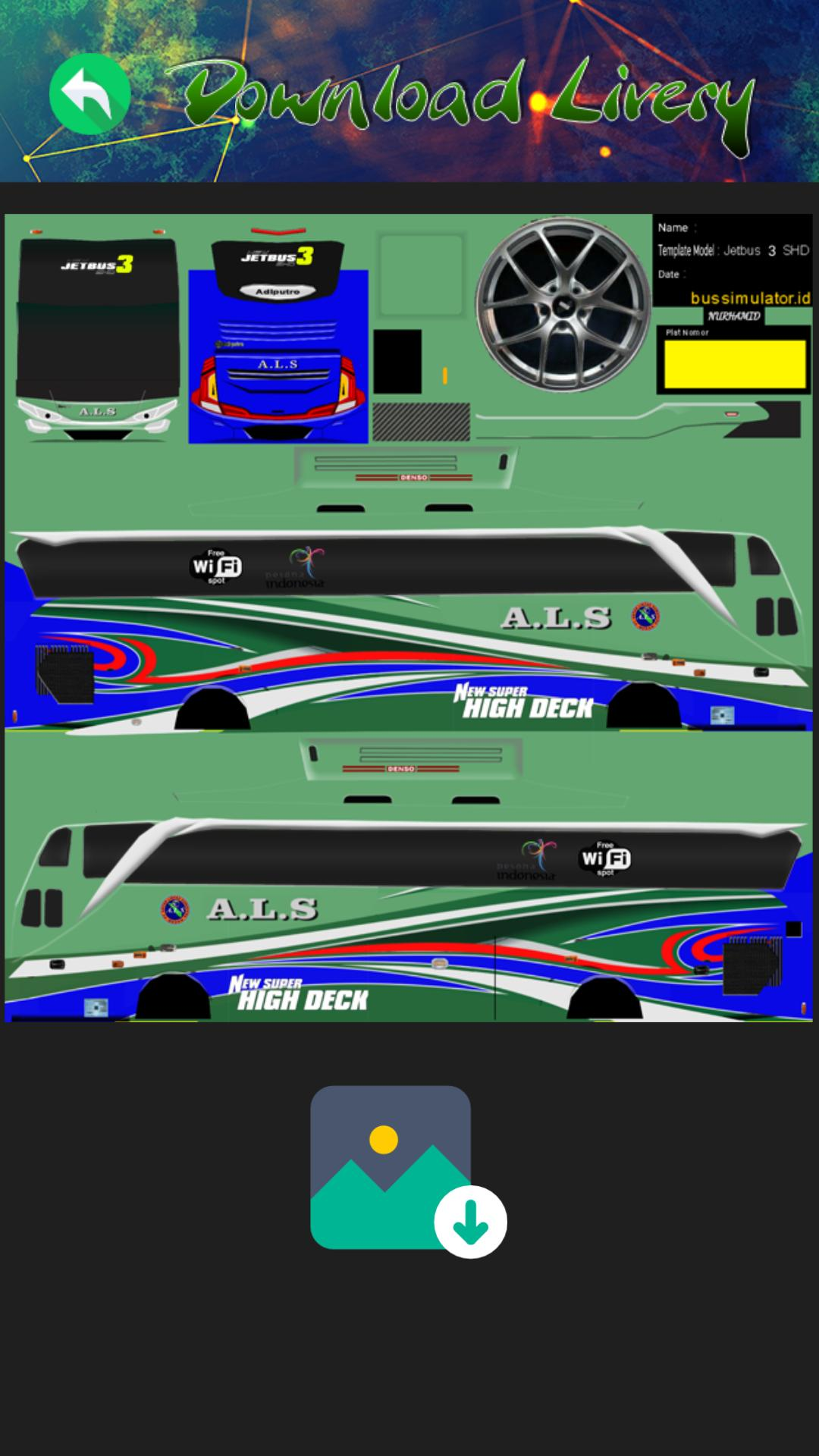 Livery Bus Als Jetbus 3 For Android Apk Download