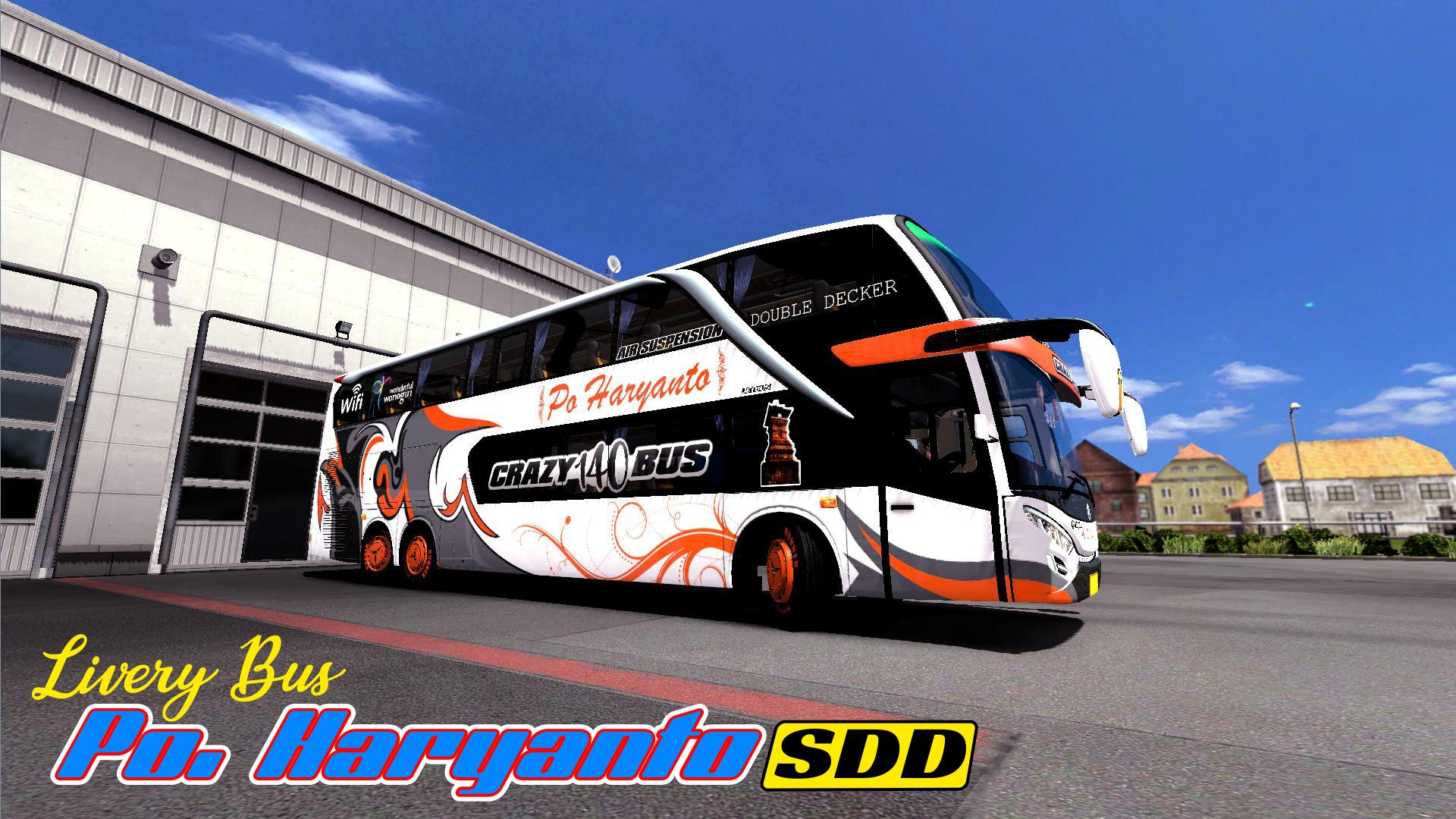 Livery Bus Po Haryanto Jetbus 3 For Android Apk Download