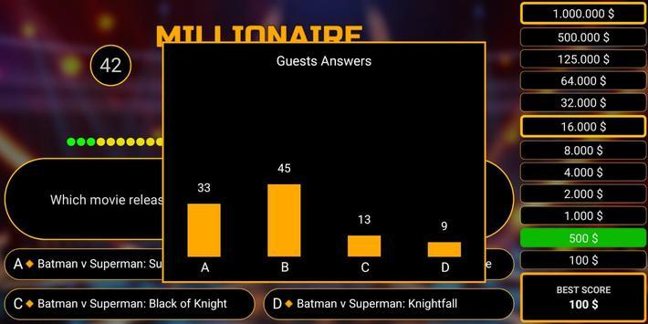 Millionaire free game 2019 quiz millionaire trivia screenshot 1