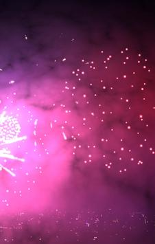 3D Fireworks Wallpaper Free screenshot 3