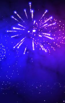 3D Fireworks Wallpaper Free screenshot 2