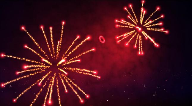 3D Fireworks Wallpaper Free screenshot 7