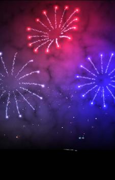 3D Fireworks Wallpaper Free screenshot 5