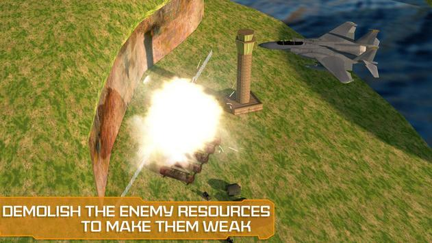 Air Force Surgical Strike War - Airplane Fighters screenshot 7