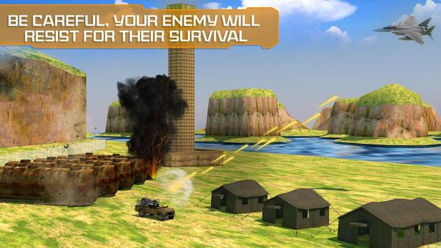 Air Force Surgical Strike War - Airplane Fighters screenshot 5