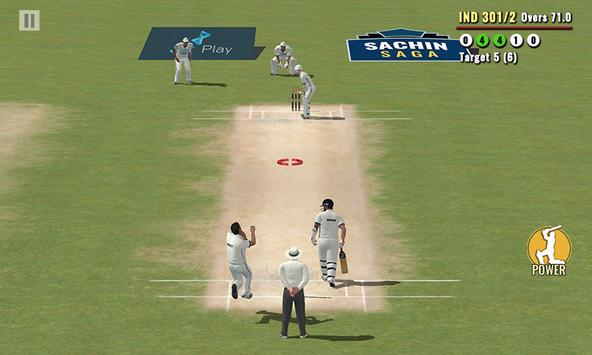 Sachin Saga Cricket Champions تصوير الشاشة 6