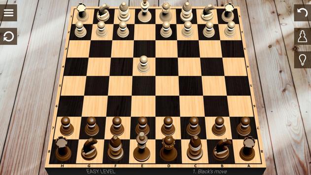 Schach Plakat
