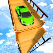 Sky Ramp Car Mega Stunts Big Jump أيقونة