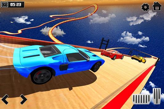 Sky Ramp Car Mega Stunts Big Jump تصوير الشاشة 10