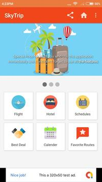 SkyTrip - Compare Price Hotel and Flight poster
