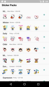 WAStickerApps Comic Stickers Collection screenshot 1
