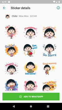 WAStickerApps Comic Stickers Collection screenshot 5