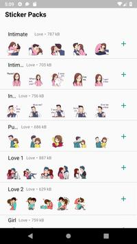 WAStickerApps Love Stickers poster
