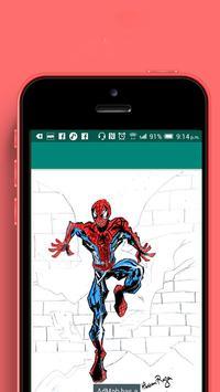 how to draw: super hero screenshot 4