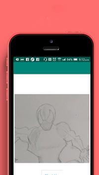 how to draw: super hero screenshot 2