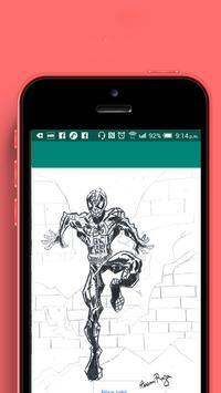 how to draw: super hero screenshot 3