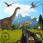 Mortal dinossauro caçador vingança fps shooter jog ícone