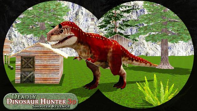Mortal dinossauro caçador vingança fps shooter jog imagem de tela 2