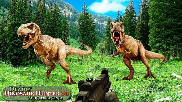 Mortal dinossauro caçador vingança fps shooter jog imagem de tela 3
