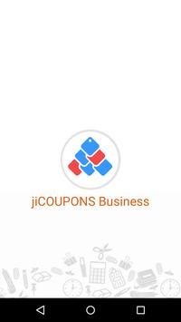 jiCOUPONS Business poster