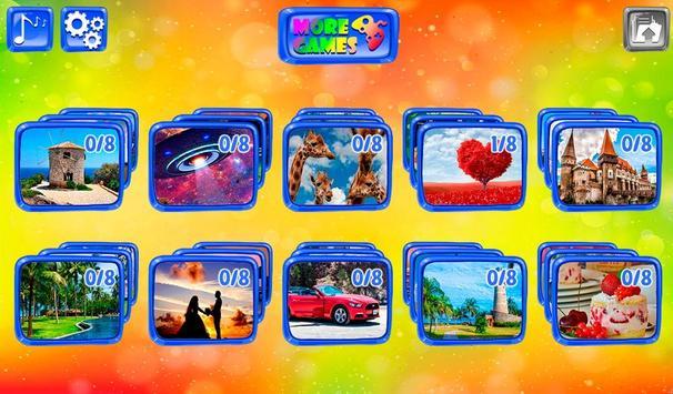 Les puzzles pour toute la famille capture d'écran 1