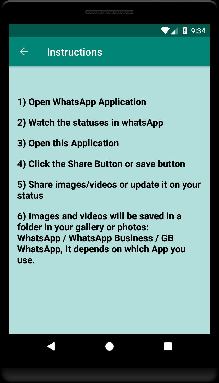 Status Saver For Whatsapp Save Download Status For Android