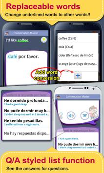 Spanish Conversation MasterPRO screenshot 3