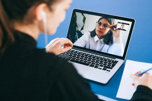 Video Conferencing   Video Meeting guide Poster