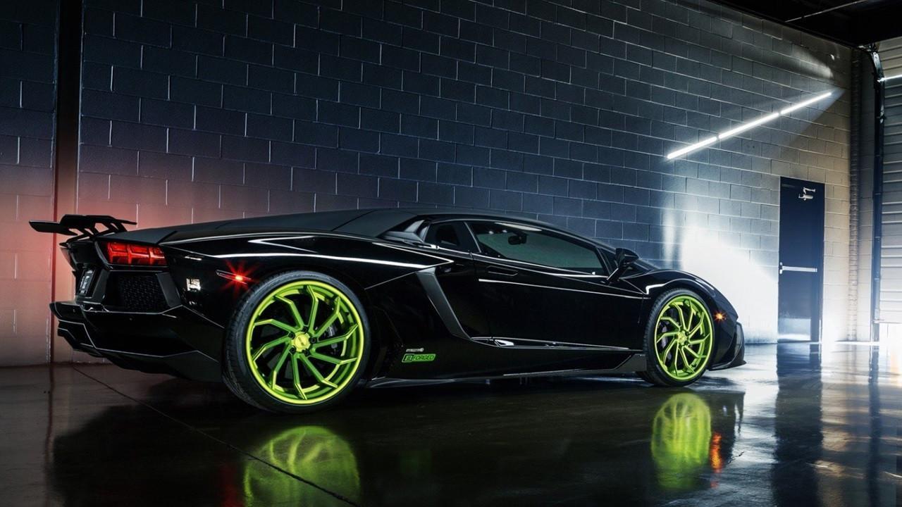 Black Lamborghini Aventador Wallpaper For Android Apk Download