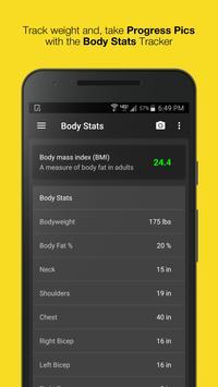 WORKIT - Gym Log, Workout Tracker, Fitness Trainer screenshot 7