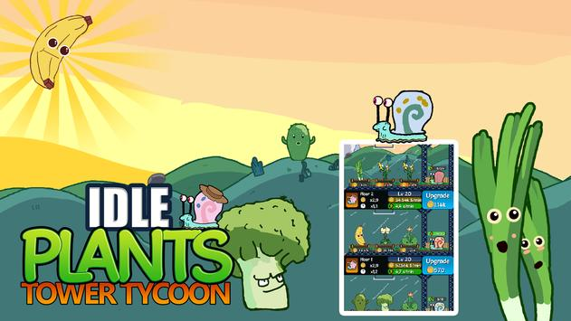 Idle Plants Tower Tycoon - Vertical Farming Empire poster