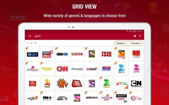 JioTV स्क्रीनशॉट 9