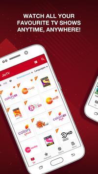 JioTV स्क्रीनशॉट 1