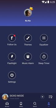 GO Reproductor de música captura de pantalla 7